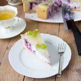 cheesecake σπιτικό Στοκ φωτογραφία με δικαίωμα ελεύθερης χρήσης