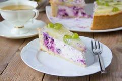 cheesecake σπιτικό Στοκ Εικόνες