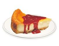 cheesecake φέτα στοκ εικόνες