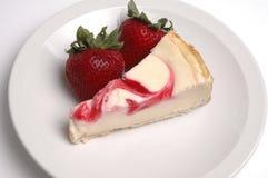 cheesecake φράουλα Στοκ φωτογραφίες με δικαίωμα ελεύθερης χρήσης