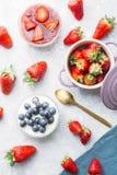 Cheesecake φραουλών Στοκ Φωτογραφία