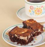 cheesecake пирожнй Стоковая Фотография