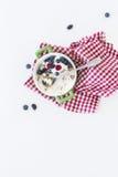Cheesecake с ягодами Стоковые Изображения RF