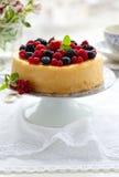 cheesecake ягод Стоковое Изображение