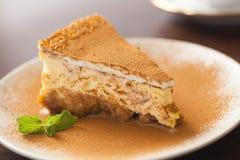 The cheesecake Stock Photos