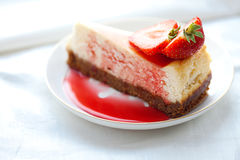 cheesecake Fotografia Stock