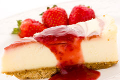 Cheesecake. Stock Image