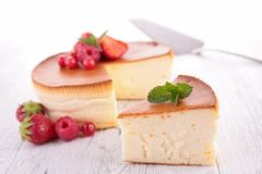 Cheesecake Obrazy Royalty Free