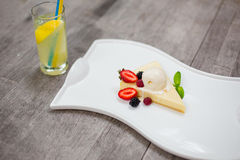 cheesecake Immagini Stock