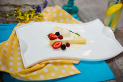 cheesecake Fotografia Stock