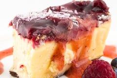 cheesecake Fotografia de Stock