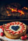 cheesecake Fotografía de archivo libre de regalías