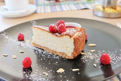 cheesecake Immagine Stock Libera da Diritti