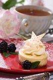 cheesecake bobowa wanilia Zdjęcie Royalty Free
