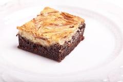Cheesecake Brownies Stock Photography