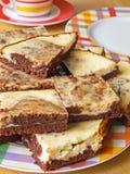 Cheesecake Brownies Royalty Free Stock Image