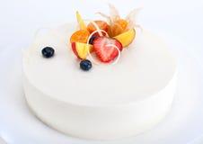 Cheesecake cake Stock Photo