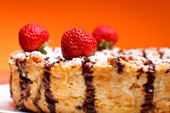 Cheesecake Closeup Royalty Free Stock Image