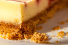 Cheesecake Closeup Stock Photos