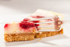 Cheesecake Closeup Stock Photography