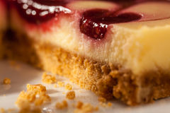 Cheesecake Closeup Royalty Free Stock Image