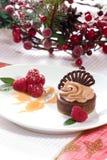 cheesecake czekolada Zdjęcia Royalty Free