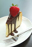cheesecake czekolady deser Obrazy Stock