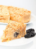 Cheesecake with dried fruits Stock Images
