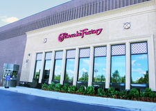 Cheesecake Factory. A new cheesecake factory was open at Stock Photo