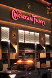 Cheesecake Factory Restaurant Royalty Free Stock Images