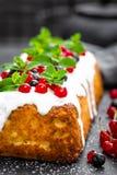 Cheesecake with fresh berries and yogurt, stock photo Stock Photography