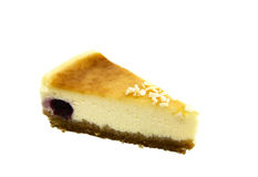 Cheesecake - home made Stock Image
