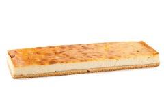 Cheesecake isolated on white background.  Stock Image