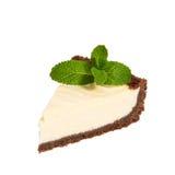 Cheesecake isolated on white background Stock Photo