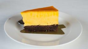 Cheesecake jest wyśmienicie Zdjęcie Stock