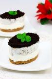 Cheesecake Oreo στοκ εικόνες