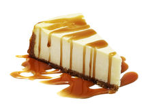 Cheesecake with pen clipping path included Stock Image