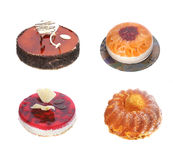 Cheesecake and pie desserts Royalty Free Stock Photos