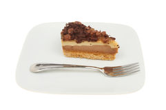 Cheesecake on a plate Stock Photography