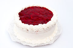 Cheesecake with Raspberry. From Hungary Stock Photo