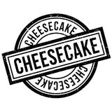 Cheesecake rubber stamp Stock Photo