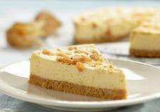Cheesecake slice Royalty Free Stock Photos