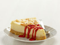 Cheesecake slice Royalty Free Stock Image