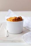 Cheesecake souffle Stock Photo