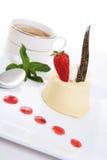 cheesecake strawberry Стоковая Фотография