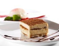 cheesecake tiramisu επιδορπίων Στοκ φωτογραφία με δικαίωμα ελεύθερης χρήσης