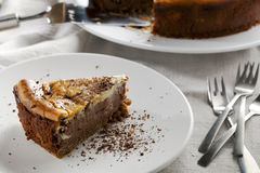 Cheesecake Treat Royalty Free Stock Photography