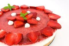 cheesecake truskawek jogurt Zdjęcie Stock