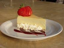 cheesecake truskawka Obrazy Stock