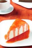cheesecake truskawka Zdjęcie Stock
